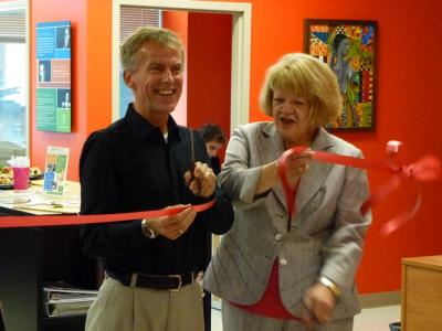 Ribbon Cutting, Skill Centre ERC
